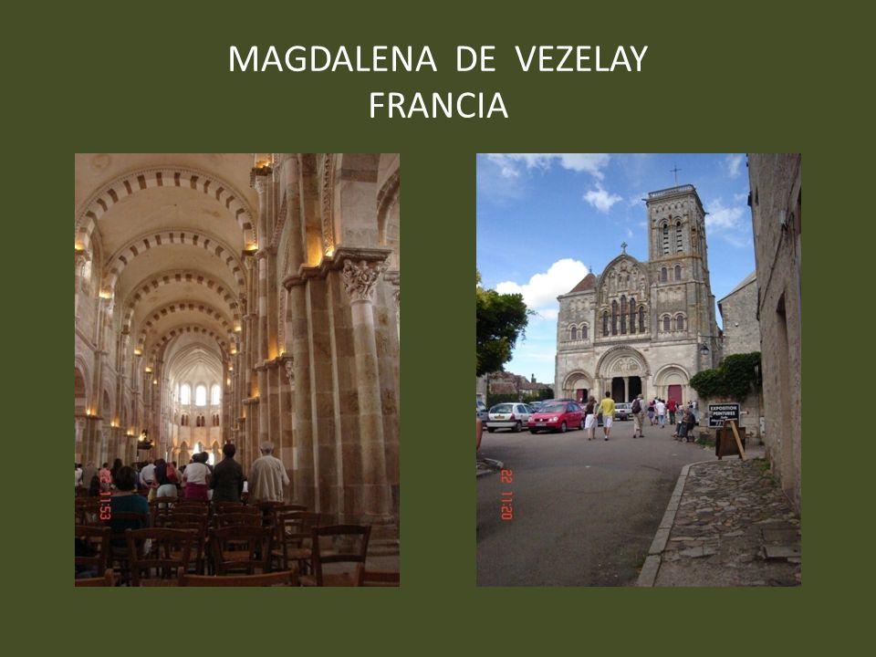MAGDALENA DE VEZELAY FRANCIA