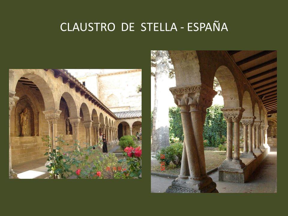 CLAUSTRO DE STELLA - ESPAÑA