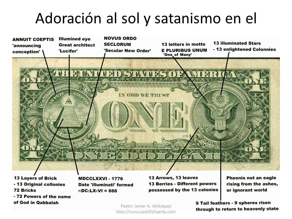 Adoración al sol y satanismo en el