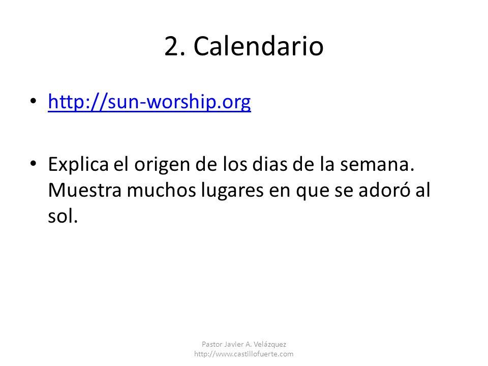 Pastor Javier A. Velázquez http://www.castillofuerte.com