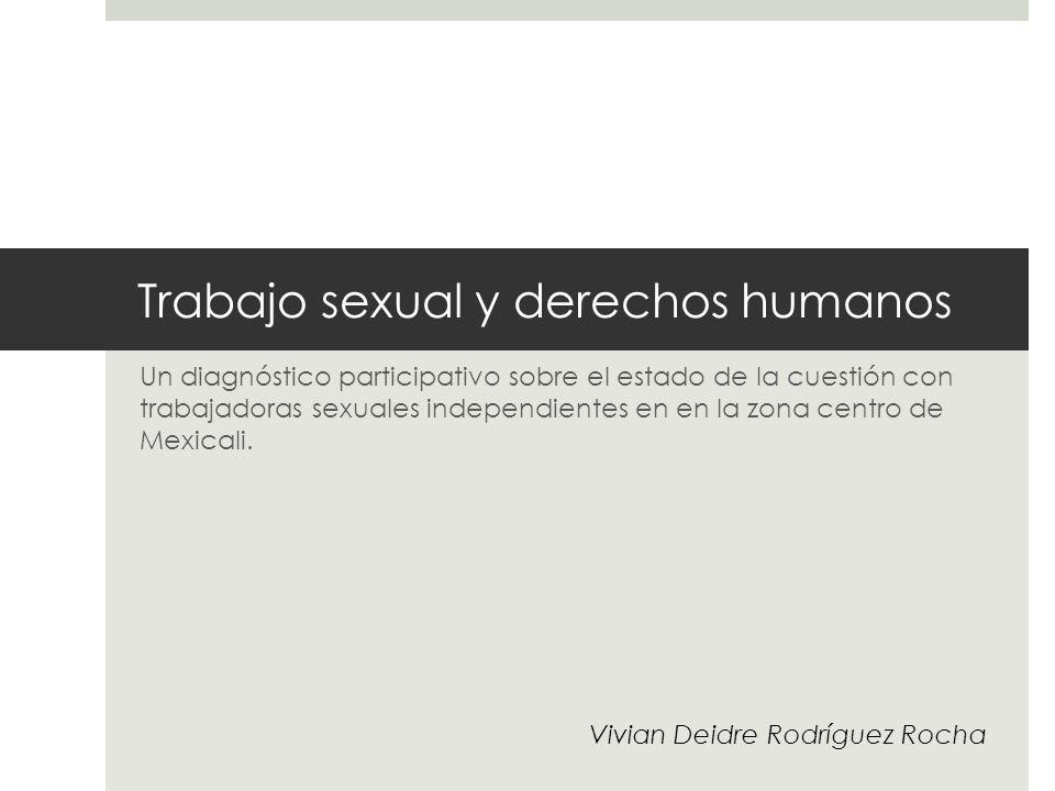Trabajo sexual y derechos humanos