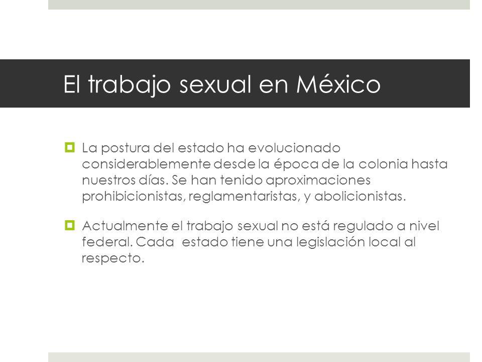 El trabajo sexual en México