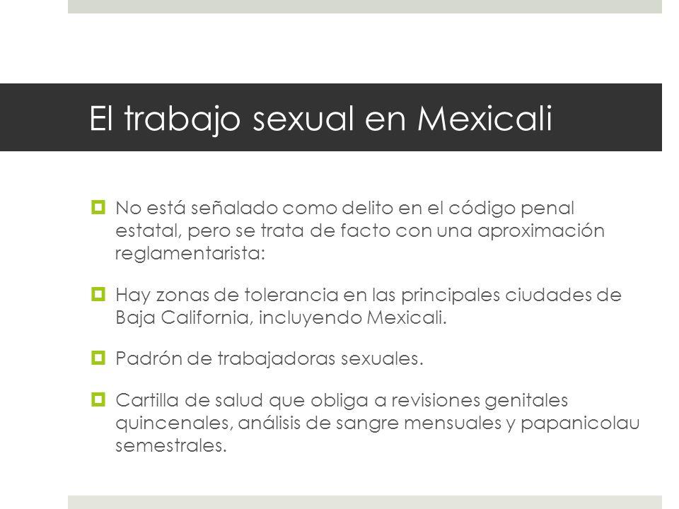 El trabajo sexual en Mexicali