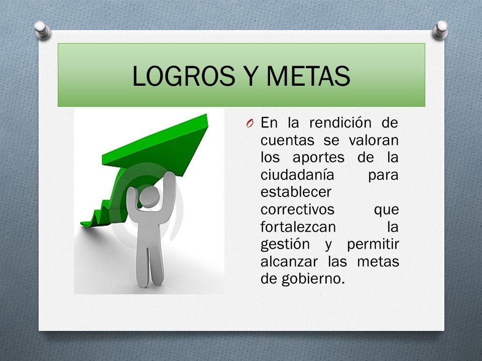 LOGROS Y METAS