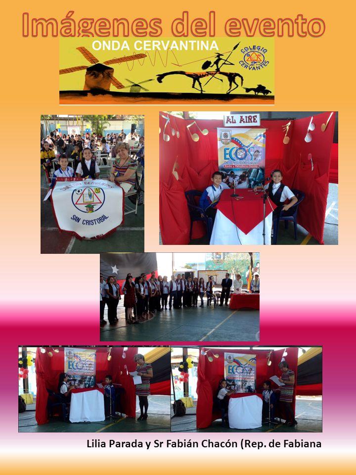 Imágenes del evento Lilia Parada y Sr Fabián Chacón (Rep. de Fabiana