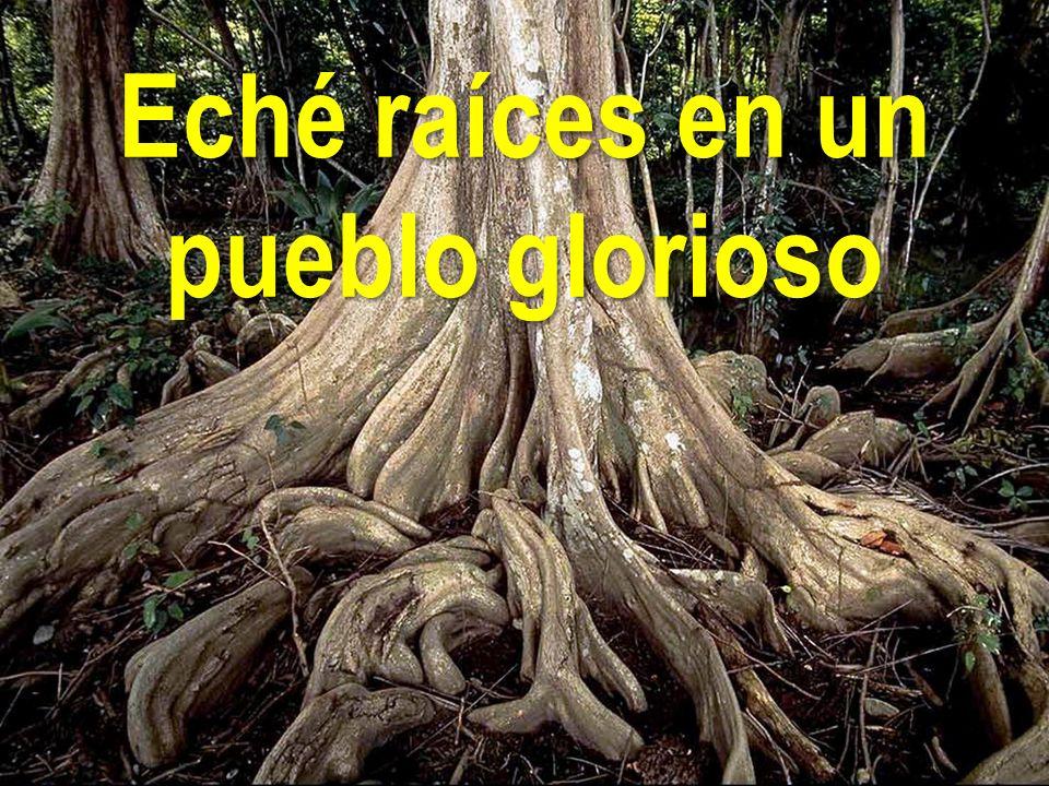 Eché raíces en un pueblo glorioso