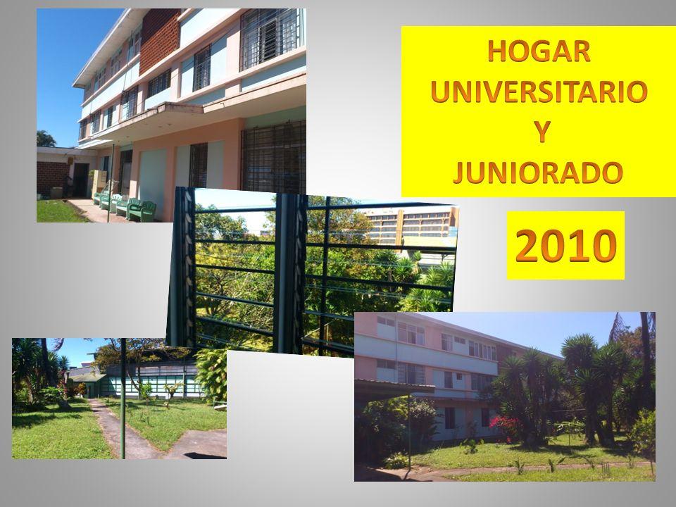 HOGAR UNIVERSITARIO Y JUNIORADO 2010