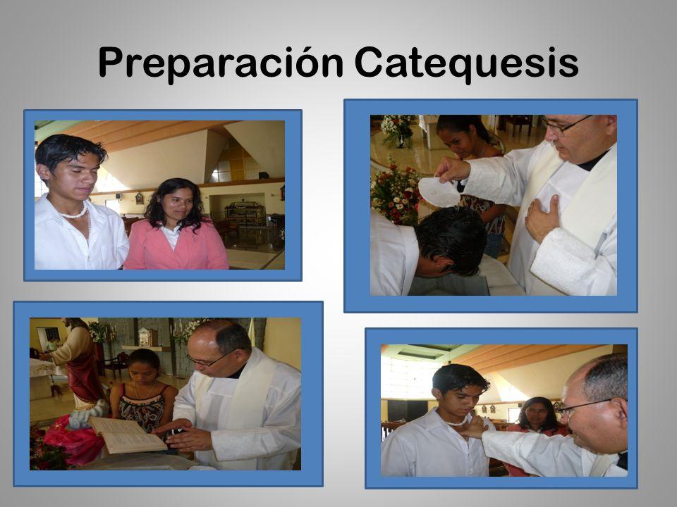 Preparación Catequesis