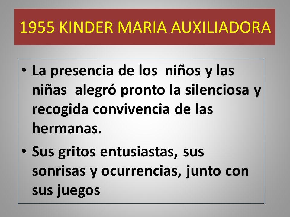 1955 KINDER MARIA AUXILIADORA