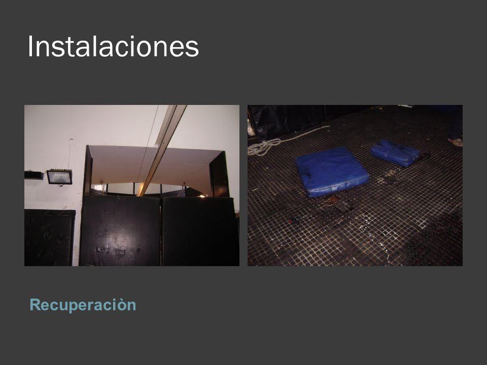 Instalaciones Recuperaciòn