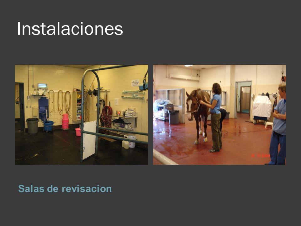 Instalaciones Salas de revisacion