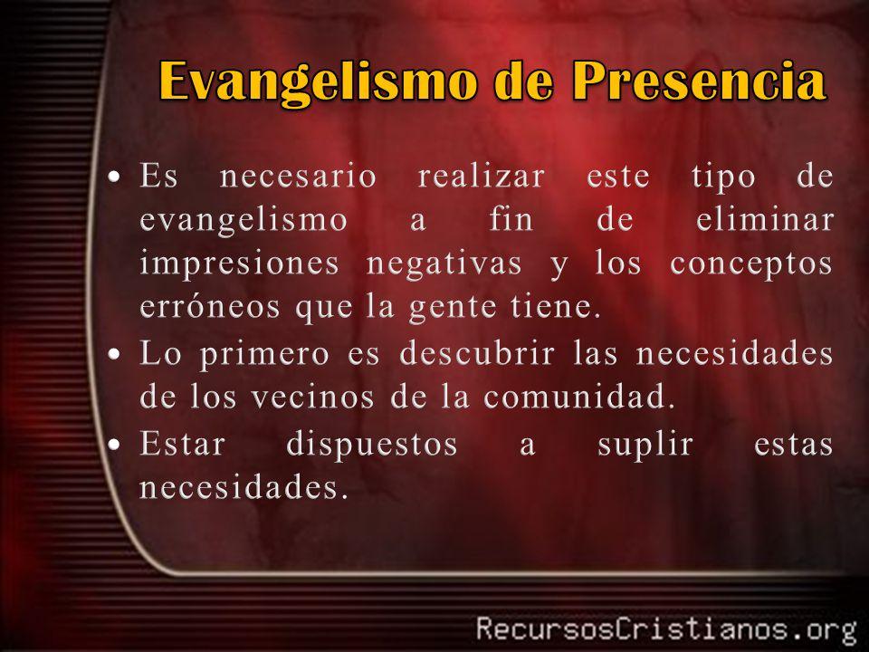 Evangelismo de Presencia