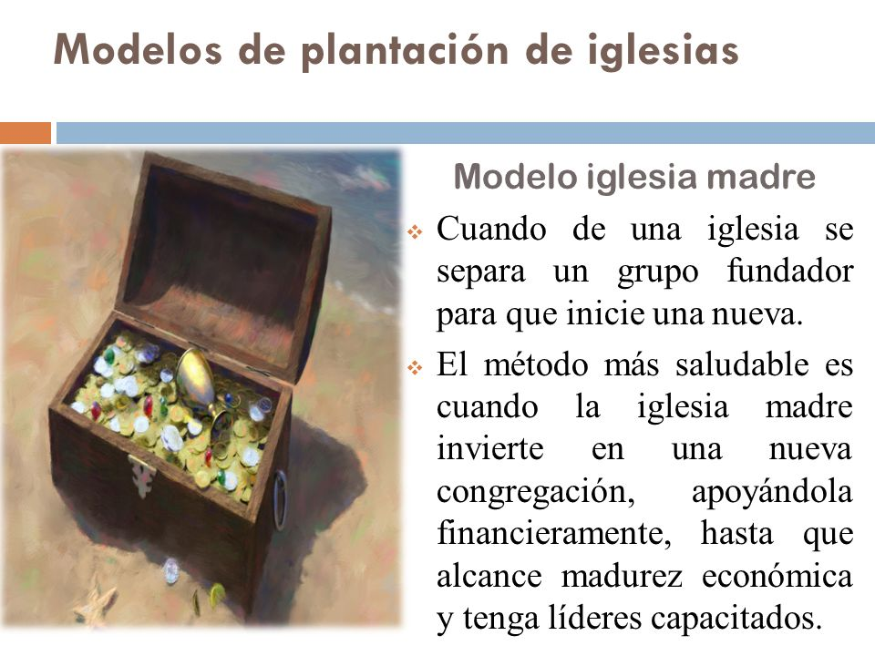 Modelos de plantación de iglesias