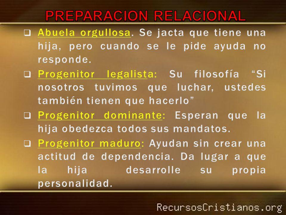 PREPARACION RELACIONAL