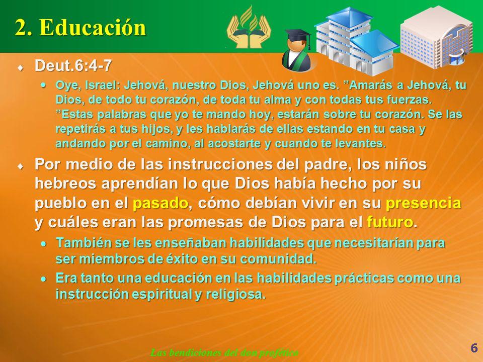 Las bendiciones del don profético