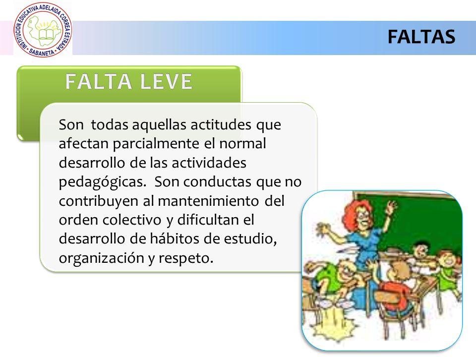 FALTAS FALTA LEVE.