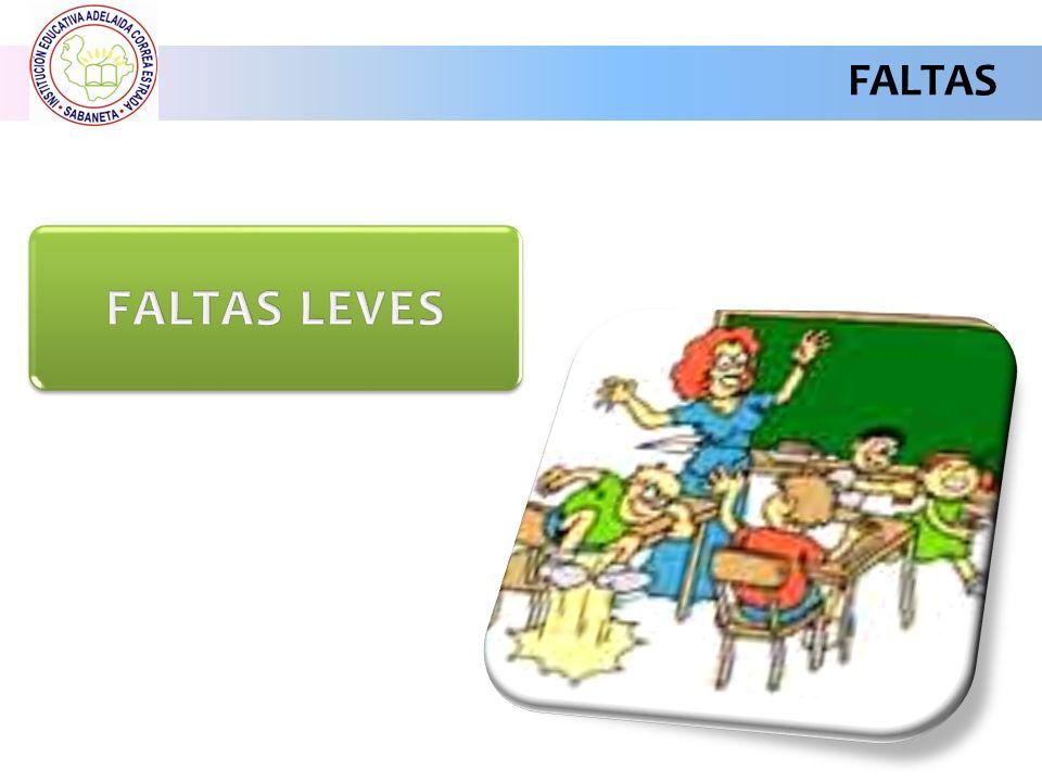 FALTAS FALTAS LEVES