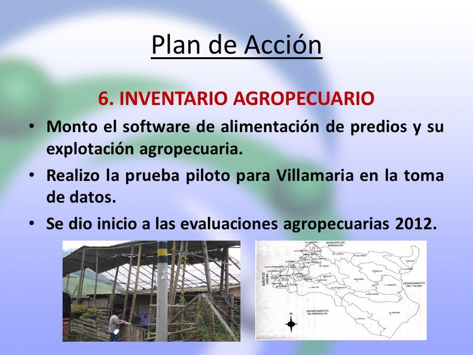 6. INVENTARIO AGROPECUARIO