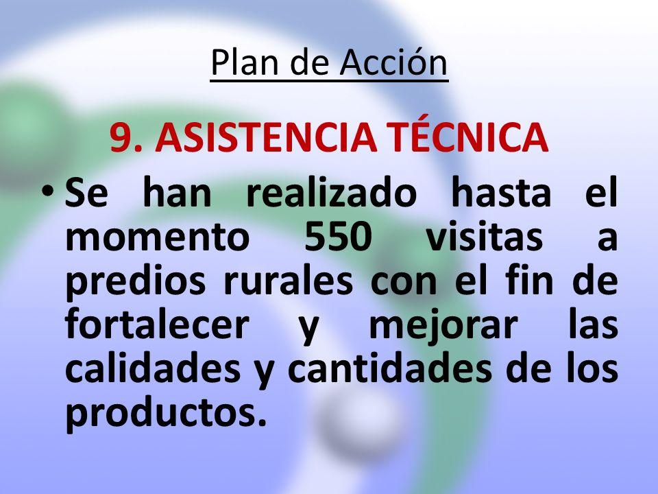 Plan de Acción 9. ASISTENCIA TÉCNICA.