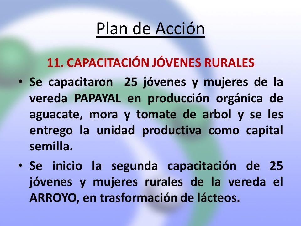 11. CAPACITACIÓN JÓVENES RURALES