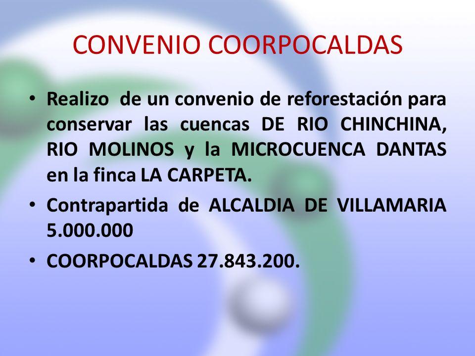CONVENIO COORPOCALDAS