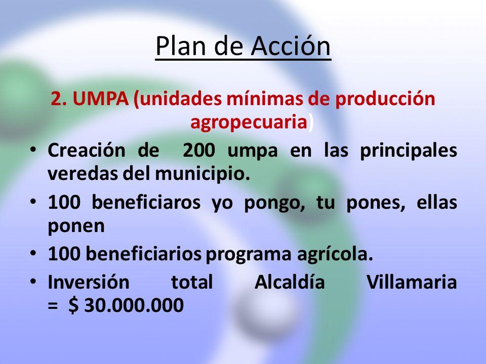 2. UMPA (unidades mínimas de producción agropecuaria)
