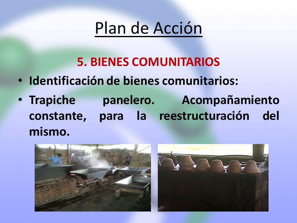 Plan de Acción 5. BIENES COMUNITARIOS