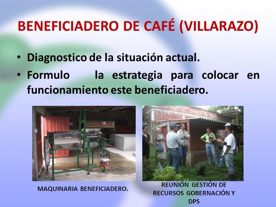 BENEFICIADERO DE CAFÉ (VILLARAZO)