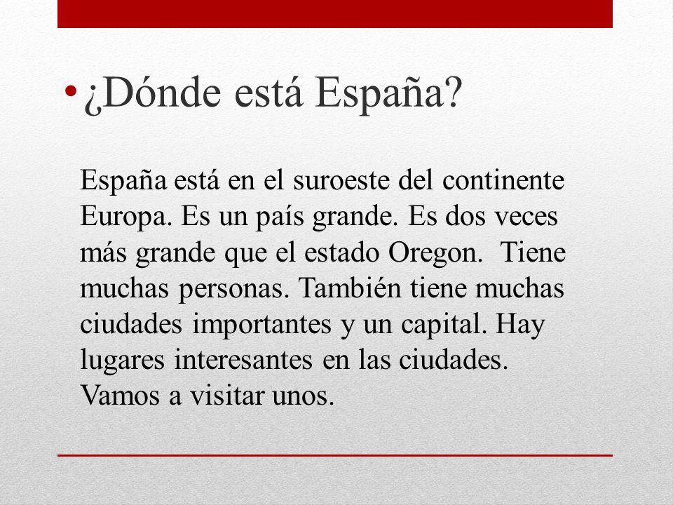 ¿Dónde está España