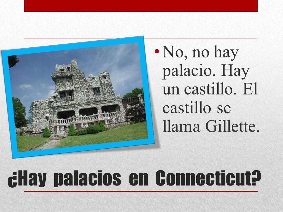 ¿Hay palacios en Connecticut