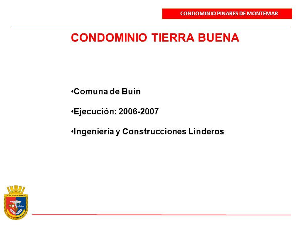 CONDOMINIO TIERRA BUENA
