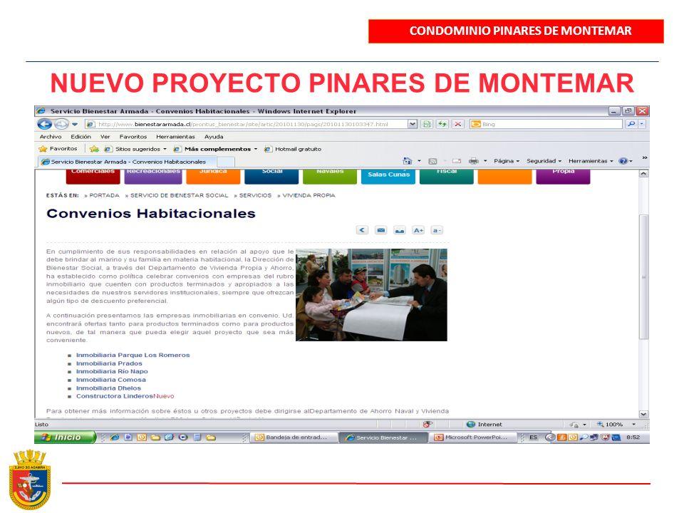 NUEVO PROYECTO PINARES DE MONTEMAR