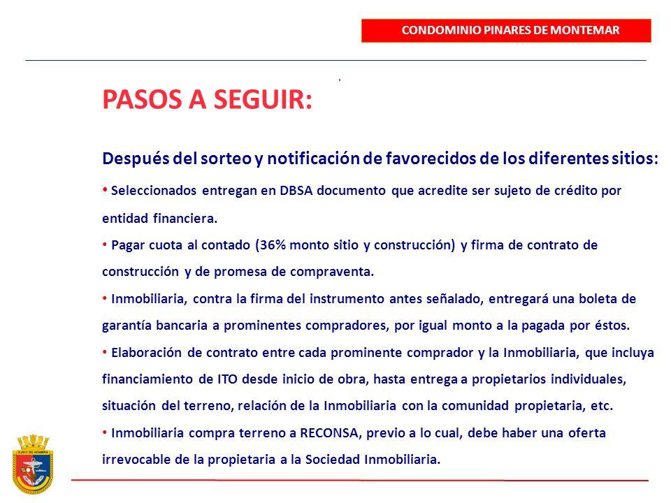 CONDOMINIO PINARES DE MONTEMAR