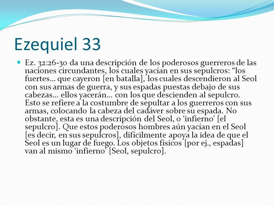Ezequiel 33