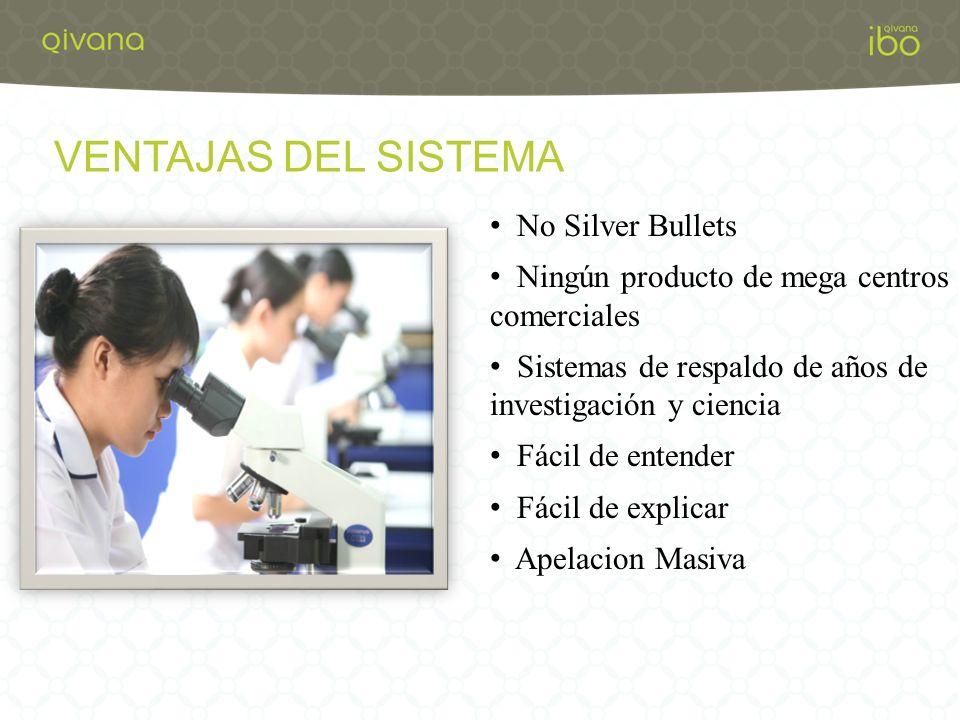 VENTAJAS DEL SISTEMA No Silver Bullets