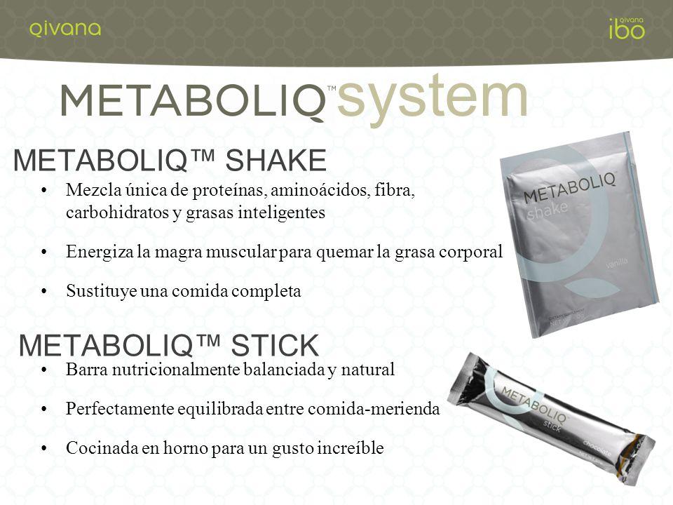 system METABOLIQ™ SHAKE METABOLIQ™ STICK