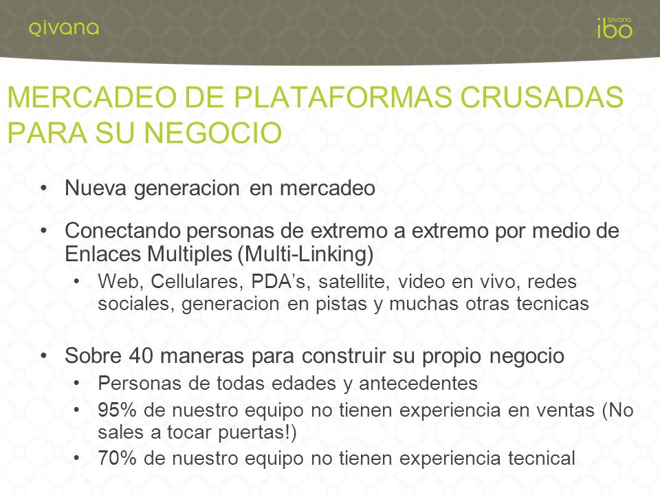 MERCADEO DE PLATAFORMAS CRUSADAS PARA SU NEGOCIO