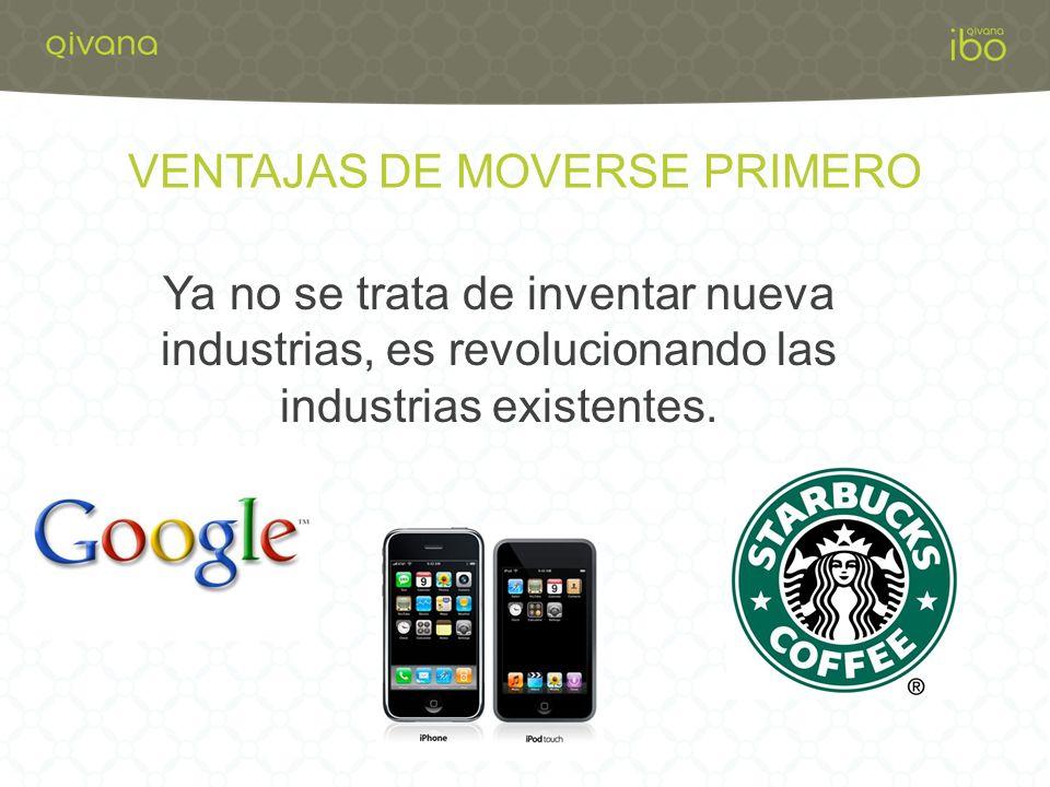 VENTAJAS DE MOVERSE PRIMERO