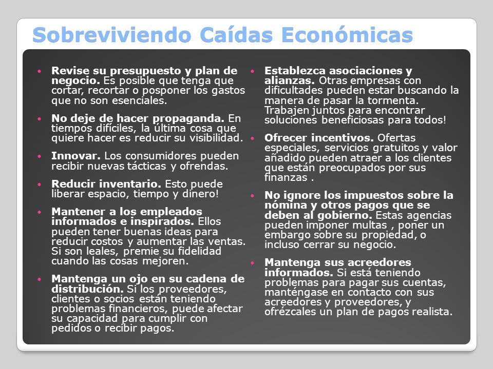 Sobreviviendo Caídas Económicas