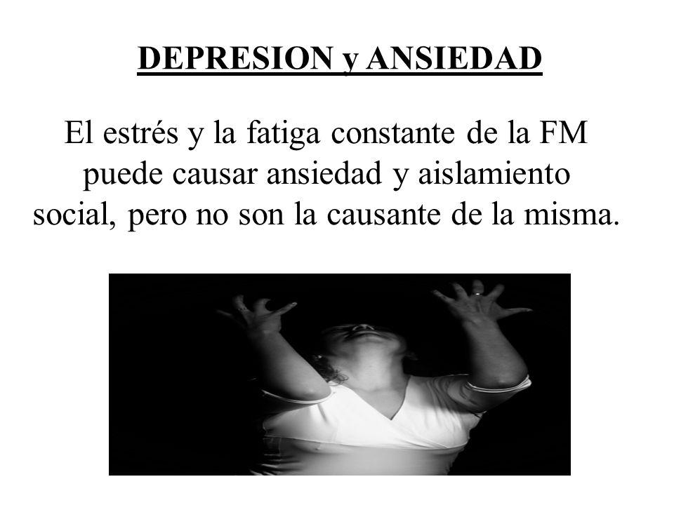 El estrés y la fatiga constante de la FM