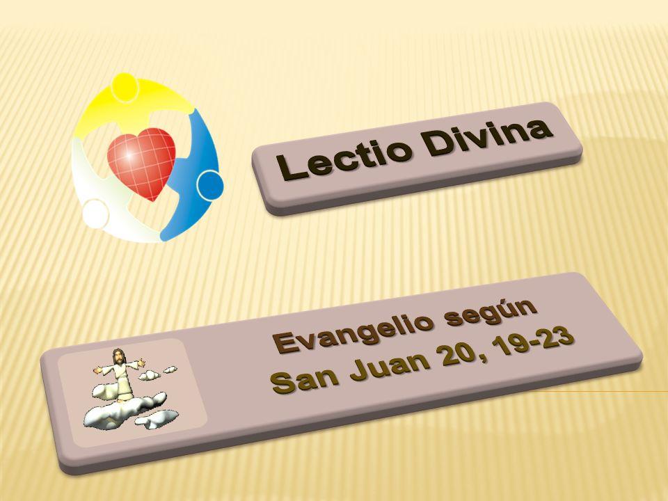 Evangelio según San Juan 20, 19-23