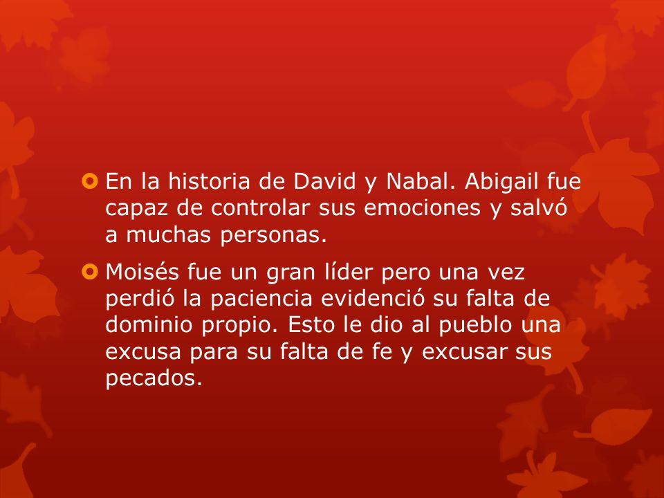 En la historia de David y Nabal