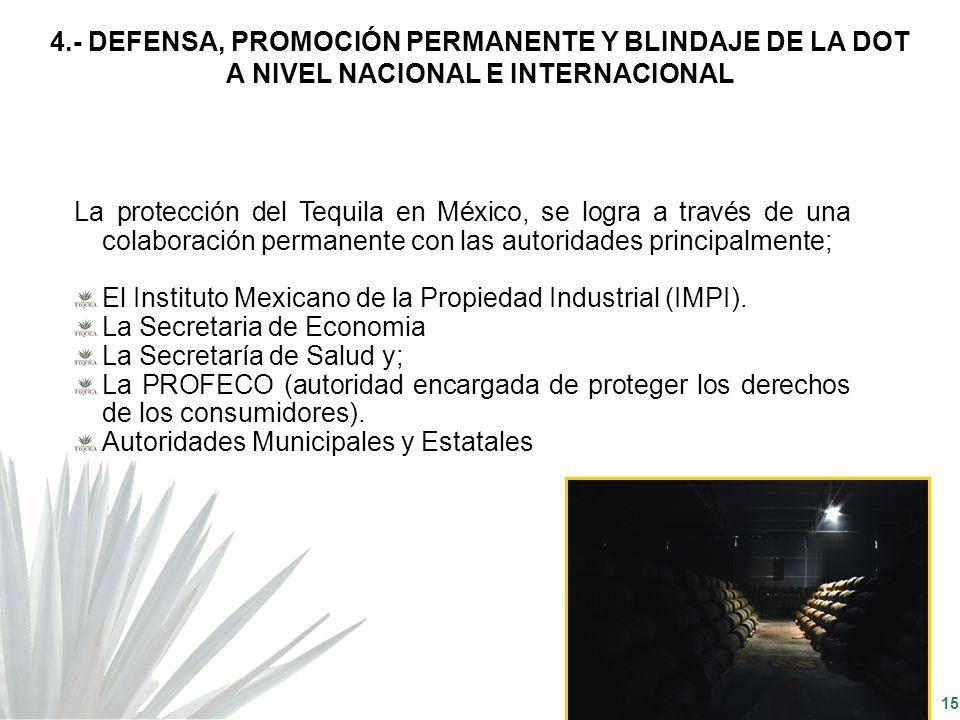 El Instituto Mexicano de la Propiedad Industrial (IMPI).