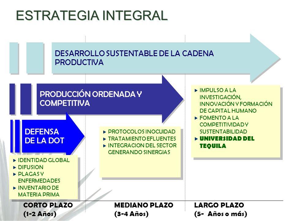 ESTRATEGIA INTEGRAL DESARROLLO SUSTENTABLE DE LA CADENA PRODUCTIVA