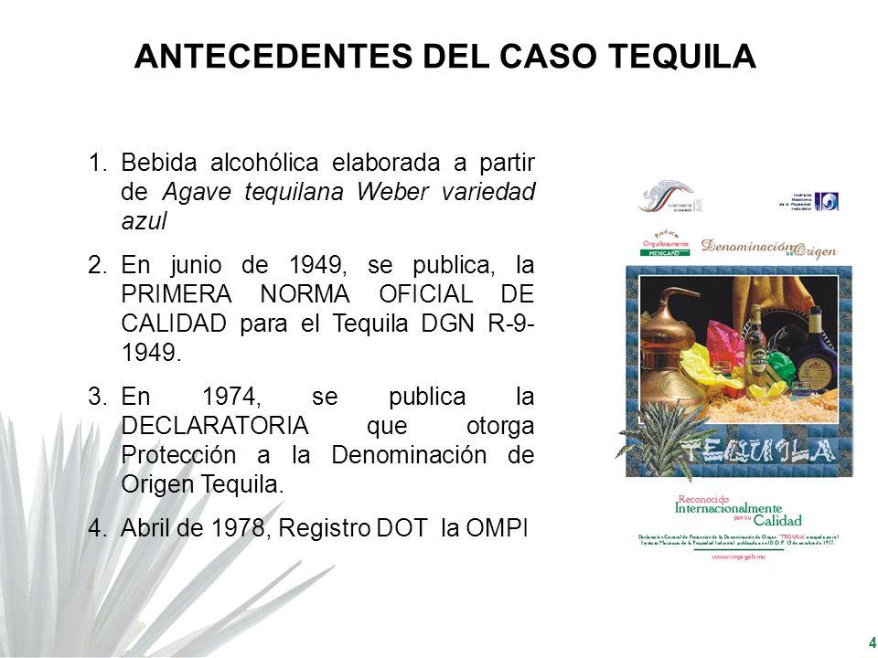ANTECEDENTES DEL CASO TEQUILA