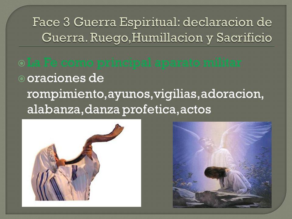Face 3 Guerra Espiritual: declaracion de Guerra
