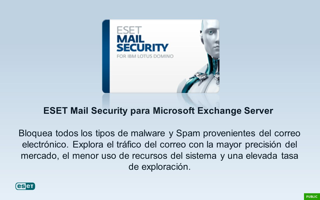 ESET Mail Security para Microsoft Exchange Server