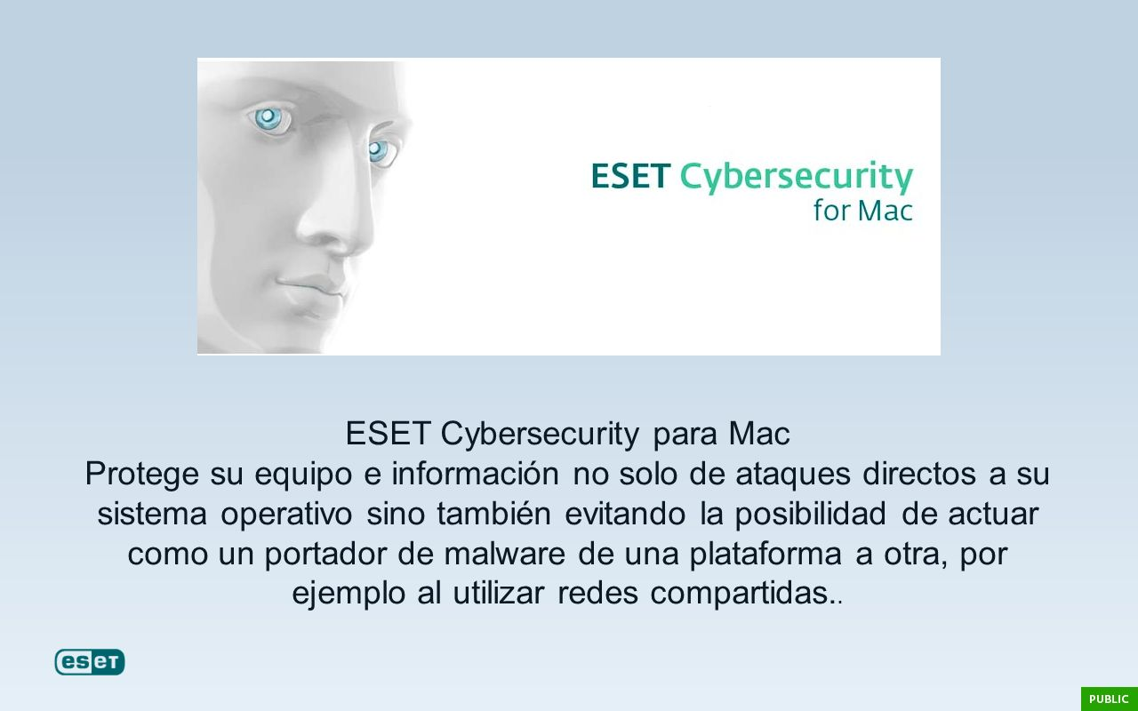 ESET Cybersecurity para Mac
