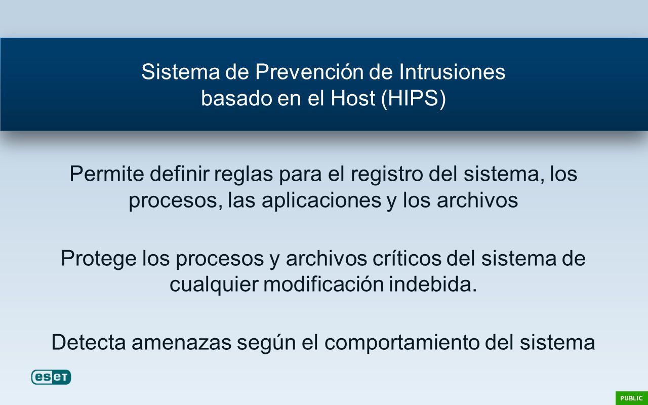 Sistema de Prevención de Intrusiones basado en el Host (HIPS)