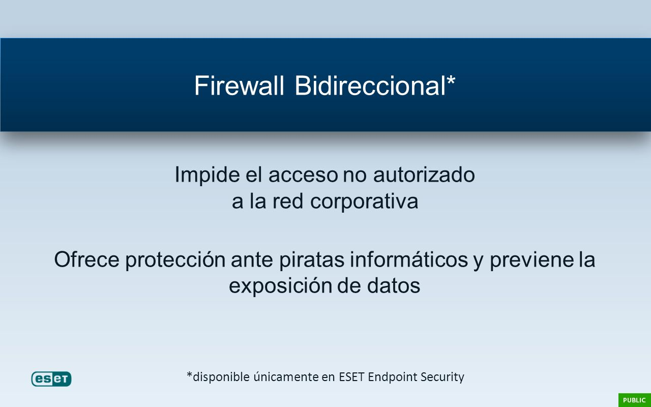 Firewall Bidireccional*